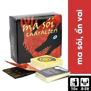 Thẻ bài Ma sói Character Việt Hóa Boardgame Hấp Dẫn thumbnail