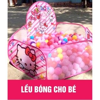[Xả Kho Giá Gốc] Nhà bóng lều bóng tặng kèm 100 quả bóng nhựa cho bé [Hàng siêu đẹp,chất lượng tốt]