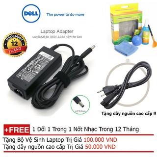 Sạc Laptop DELL 19.5V - 3.34A, 65W, Kim Nhỏ - Sạc Laptop Dell chân kim nhỏ ZIN 19.5V 3.34A Adapter Dell 5568 3558 3458 thumbnail