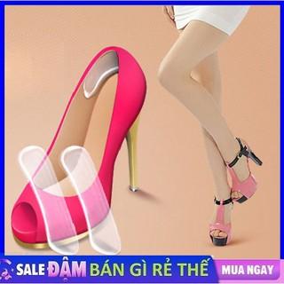 Miếng lót giày silicon chống trầy gót sau và chống tuột gót - lót gót giày silicon giá sỉ thumbnail