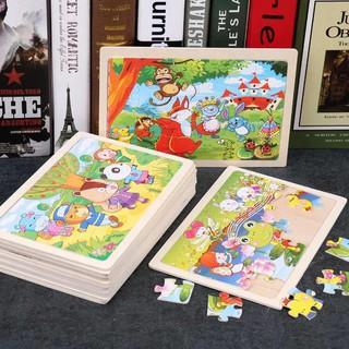 Xếp hình gỗ Puzzle 24 miếng ghép