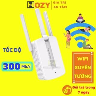 Kích sóng wifi Mercury MW310 xuyên tường , repeater wifi thu phát wifi nâng cấp hơn MW300re thumbnail