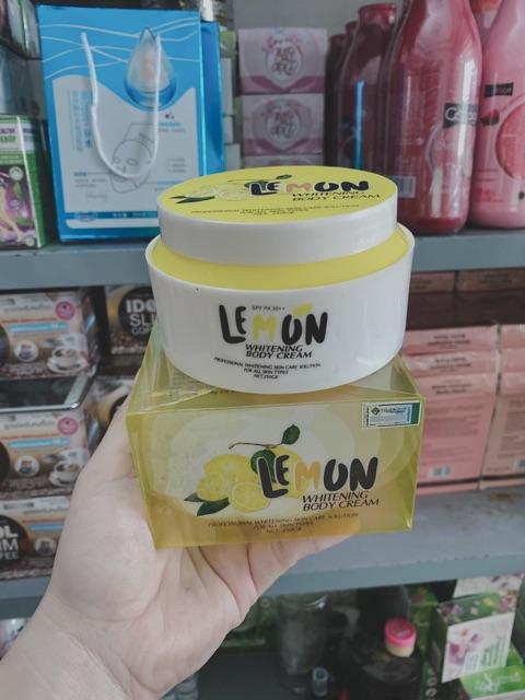 Body chanh lemon gia công