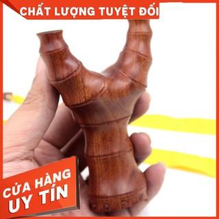 (Chạc 7.5) Ná kiểu đốt trúc gỗ hương gia công mỹ nghệ – Mẫu #155 – Hàng nhập khẩu