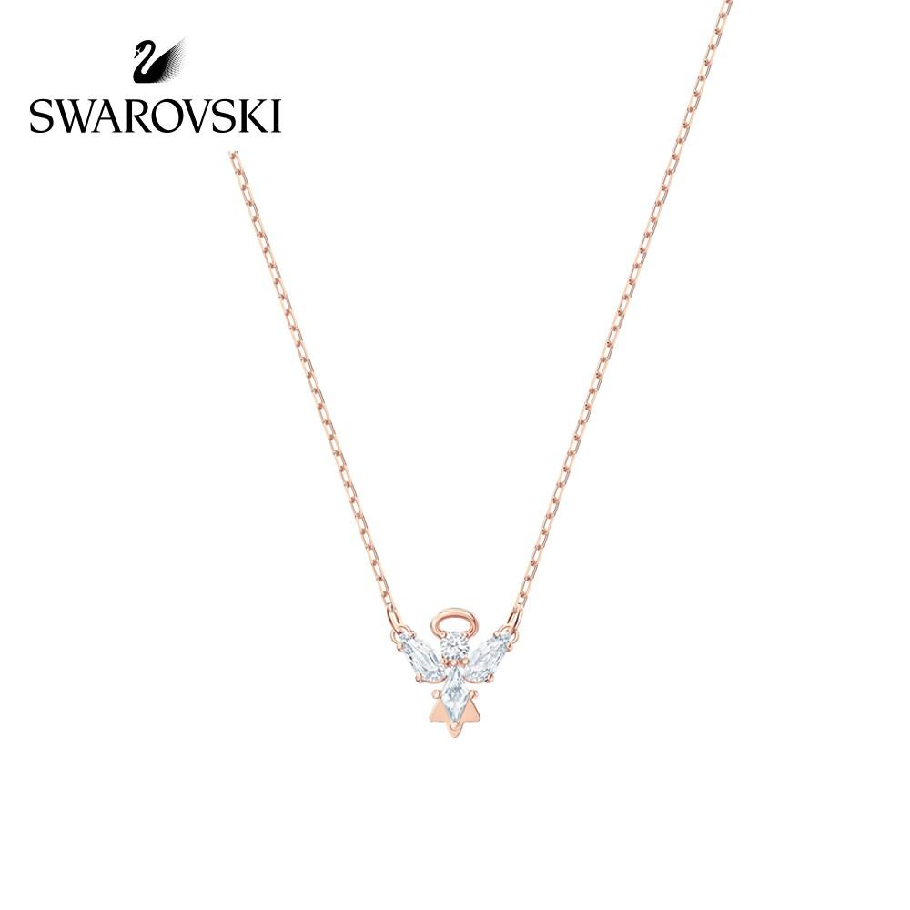 【Tiffa Brand Store】[New] Swarovski MAGIC Angels Elegant Dreams Necklace Jewelry