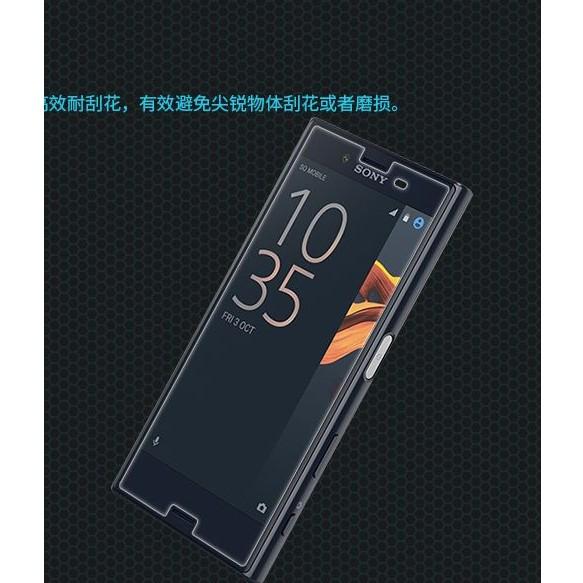 Miếng dán cường lực Sony Xperia X không phủ kín màn