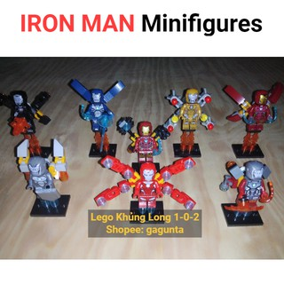 Lego Iron Man Siêu Phẩm 2020 Bộ 8 Giáp Đặc Biệt Kèm Phụ Kiện Hãng SY thumbnail