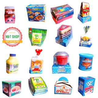 [Đồ Chơi Giáo Dục] Mô Hình Thực Phẩm Mini Shopkins Fullbox, Bộ Sưu Tập Đồ Ăn, Phụ Kiện Nhà Bếp, Siêu Thị, Nấu Ăn Cho Bé