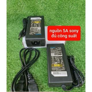 Nguồn Adapter 12v 5A Sony dùng cho bơm mini đơn