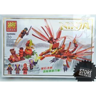 Lego Ninjago LELE-31016 Lắp Ráp Rồng Lửa ( 319 Mảnh – Đỏ )