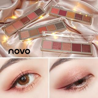 Bảng Phấn Mắt Novo Noble Color 5 Ô Màu Nhẹ Nhàng Màu Sắc Thời Trang No.5223
