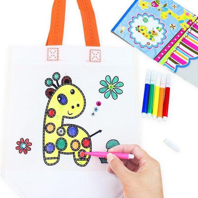 Túi tô màu quà tặng cho bé