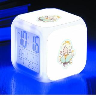 Đồng hồ báo thức để bàn in hình Sky of The Light - Đứa trẻ của ánh sáng mẫu 2