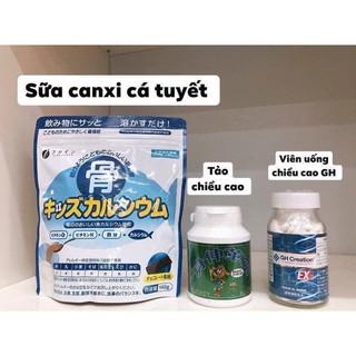 Canxi cá tuyết tăng chiều cao Nhật Bản Bone s Calcilum For Kids thumbnail