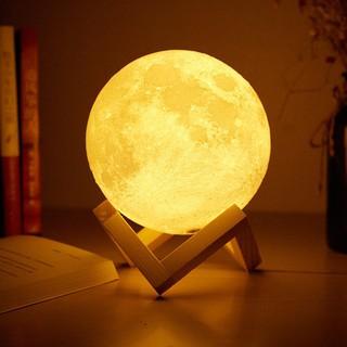 [ Siêu Đẹp ] Đèn ngủ Mặt Trăng Moon Light 3D Cảm Ứng