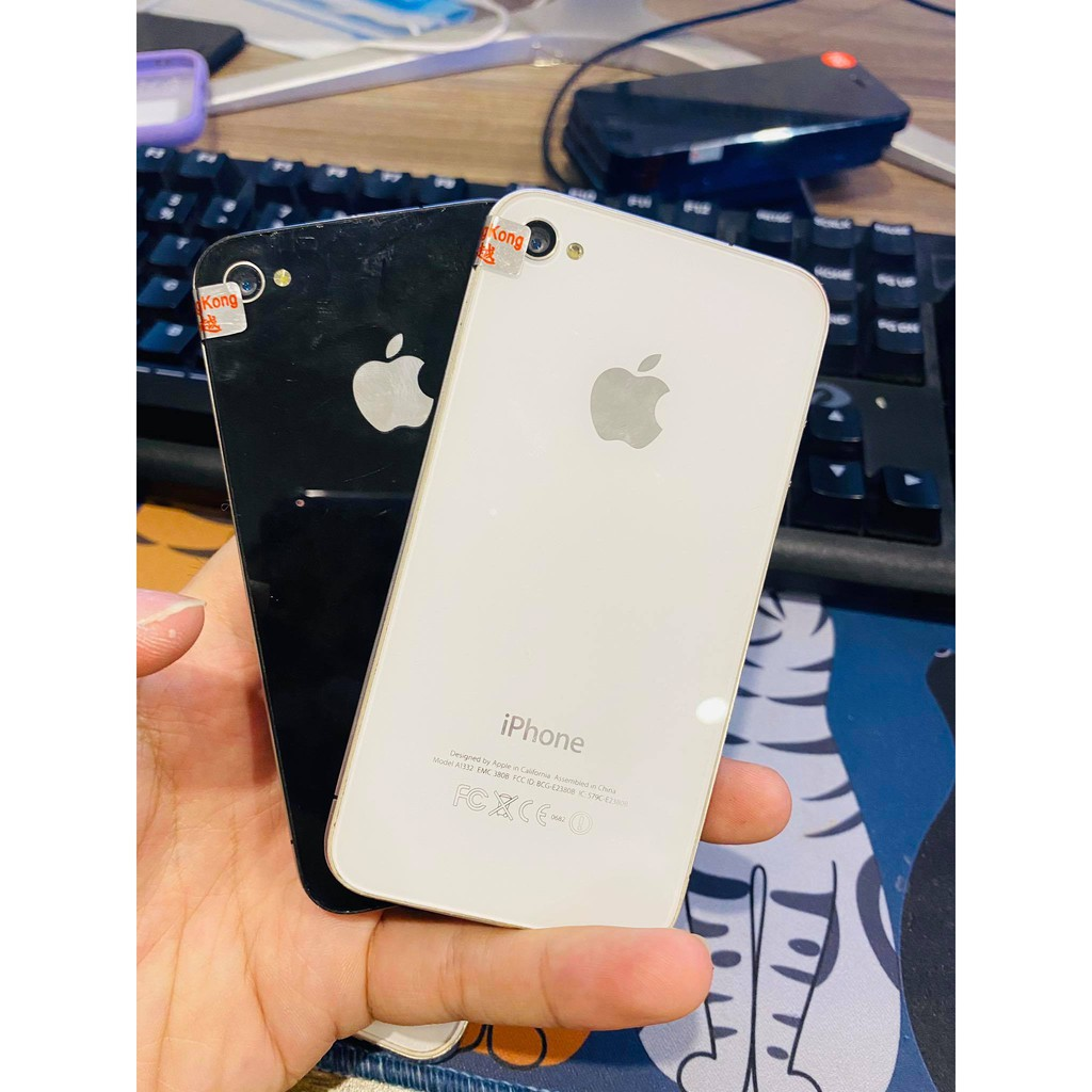 Điện thoại iphone giá rẻ - IPhone 4 16/32/8Gb Chính hãng Quốc tế - tặng kèm cáp sạc zin bảo hành toàn quốc