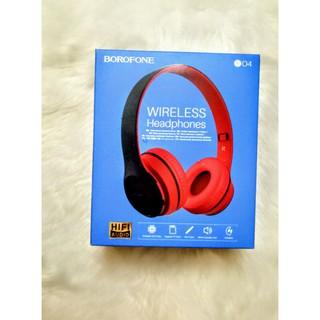 HEADPHONE TAI NGHE CHỤPTAI Bluetooth BOROFONE B04sau