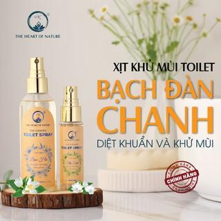 Bình xịt khử mùi toilet hương Bạch Đàn Chanh PK 30ml 100ml - khử mùi, diệt khuẩn 3