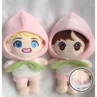 (Mông đào – 20cm – Có sẵn only) Doll V doll bts búp bê đào phụ kiện dành cho doll nhóm nhạc idol, anime chibi