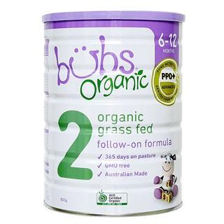 Sữa Bubs Organic Grass Fed Follow-on Formula Số 2 thumbnail