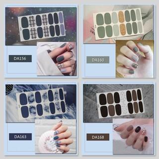 Bộ sticker dán móng tay trang trí 3D DA141-DA160 thumbnail