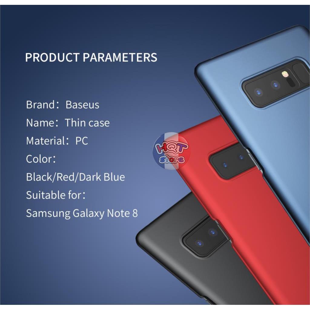 Ốp lưng Baseus Thin Case nhám siêu mỏng cho Samsung Note 8 - 2600621 , 595489370 , 322_595489370 , 120000 , Op-lung-Baseus-Thin-Case-nham-sieu-mong-cho-Samsung-Note-8-322_595489370 , shopee.vn , Ốp lưng Baseus Thin Case nhám siêu mỏng cho Samsung Note 8