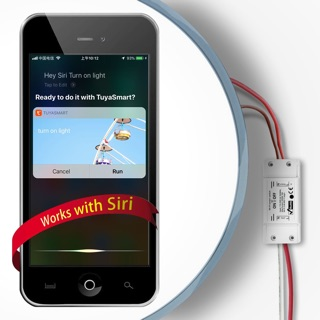 Tuya Smart Wi-Fi Breaker สวิตช์เปิดปิดผ่านแอพและสั่งงานด้วย