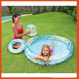 Bể bơi ngôi sao có bóng và vòng bơi giá sỉ