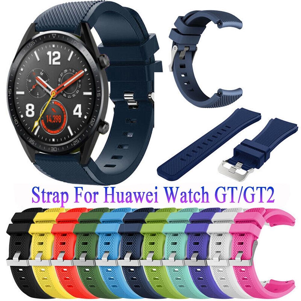 Dây Đeo Thể Thao Mềm Cho Đồng Hồ Thông Minh Huawei Gt / Gt2