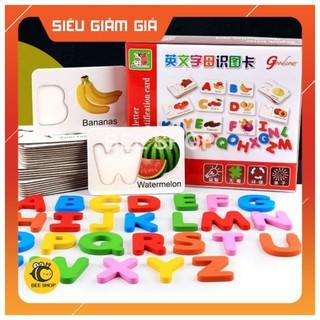 [SIÊU_HOT] ĐỒ CHƠI GIÁO DỤC – Bộ Chữ Cái 3D Ghép Hình Tiếng Anh – Cùng Bé Học Tiếng Anh Mỗi Ngày