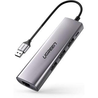 [Mã ELMALL300 giảm 7% đơn 500K] Bộ chuyển USB 3.0 sang LAN 1Gbps + Hub USB 3.0 3 cổng chính hãng UGREEN 60812 cao cấp thumbnail