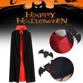 Stokn[loyi}Halloween Cape Vampire Cape Black and Red Fancy Dress Halloween