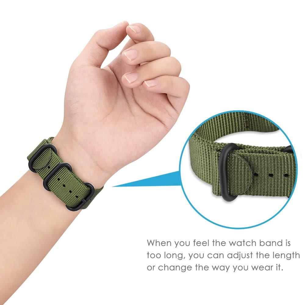 Dây Đeo 22mm 20mm Cho Đồng Hồ Thông Minh Samsung Gear S3 Frontier Galaxy Watch Gt 2 / 2e S2 Active 2 18 / 24 / 20 / 20mm