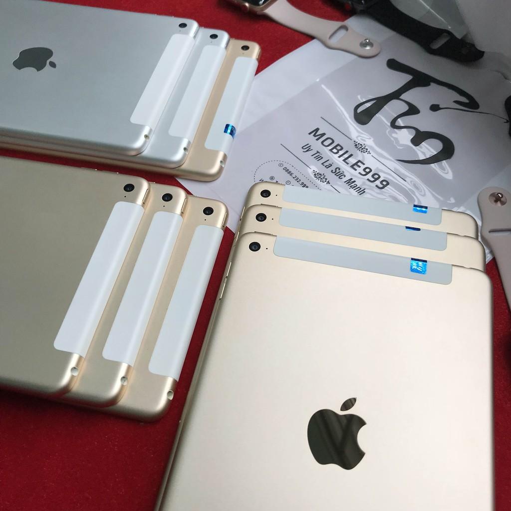 [Mã ELMT1M5 hoàn 6% đơn 1.5TR] iPad Mini 4 - 16G /32G /64GB (Wifi + 4G) - Zin Đẹp 99% - Tặng Bao Da | SaleOff247