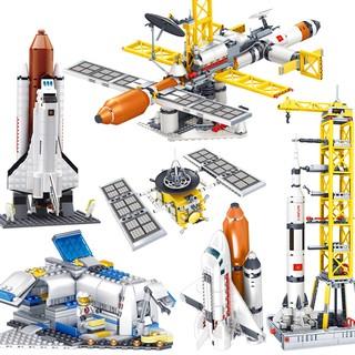Bộ Đồ Chơi Lego Xếp Hình Tên Lửa Thú Vị Cho Bé