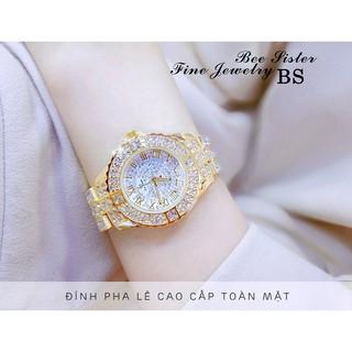 Đồng hồ nữ BS BEE SISTER EBILA Đính đá siêu đẹp + Tặng Hộp & Pin