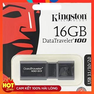 [Mã ELORDER5 giảm 10K đơn 20K] USB kings ton DT100 G3 16GB USB 3.0 - Tem FPT Vĩnh xuân