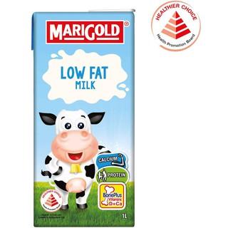 Sữa Marigold Singapore ít béo không đường thùng 24 hộp 200ml low fat