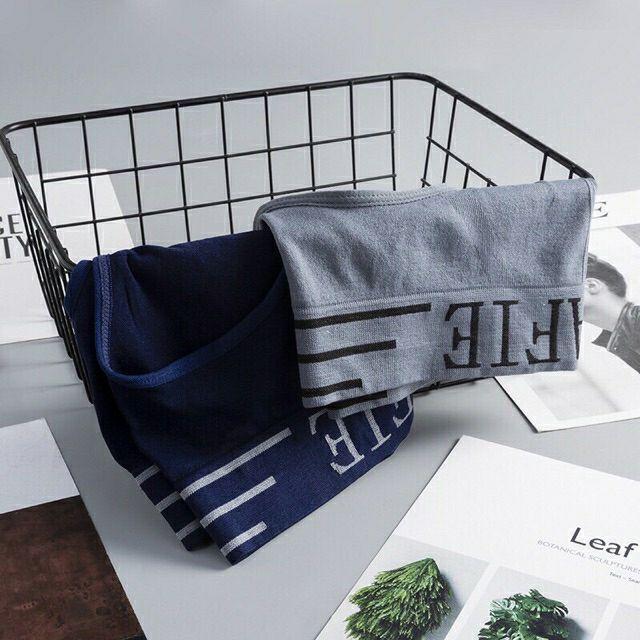 Bộ 4 quần lót tam giác hàng xuất - có túi zip