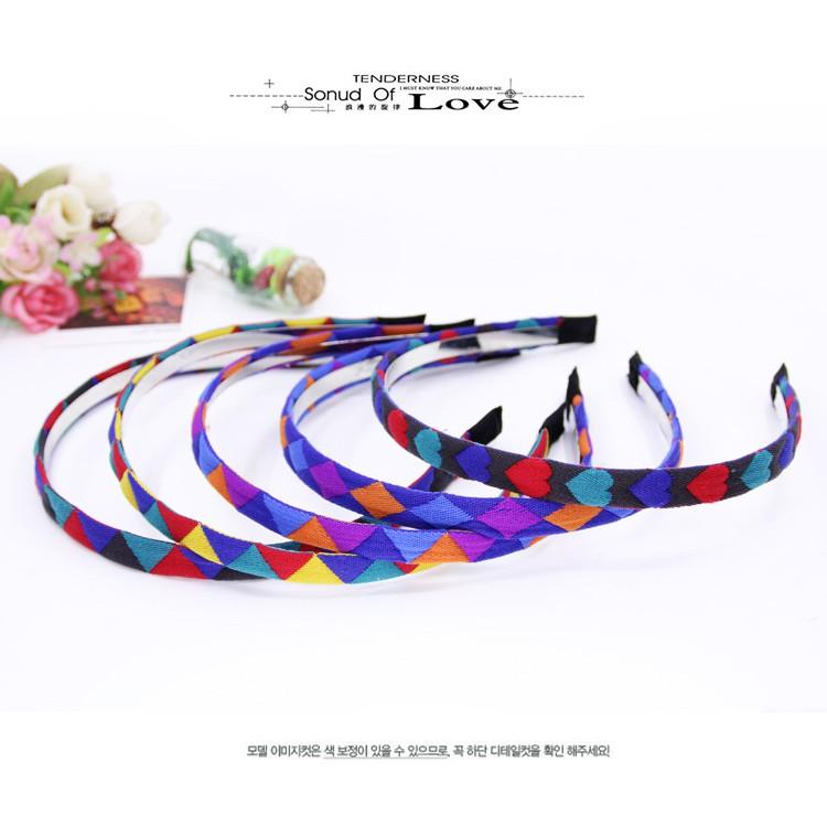 Băng đô - Cài tóc 7 màu Hàn Quốc