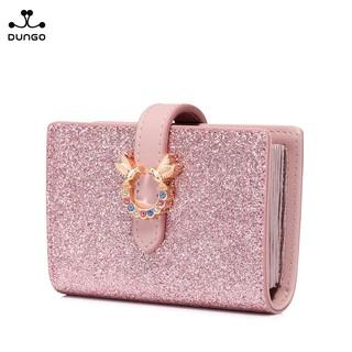 Ví Đựng Thẻ Mini Sequin Hồng Đôi Chim JUST STAR DU070674-04 thumbnail