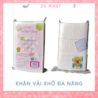 Giấy đa năng Baby Hiền Trang mẫu mới 350g, Khăn vải khô Vệ sinh cho bé hoặc Tẩy trang – 2X MART