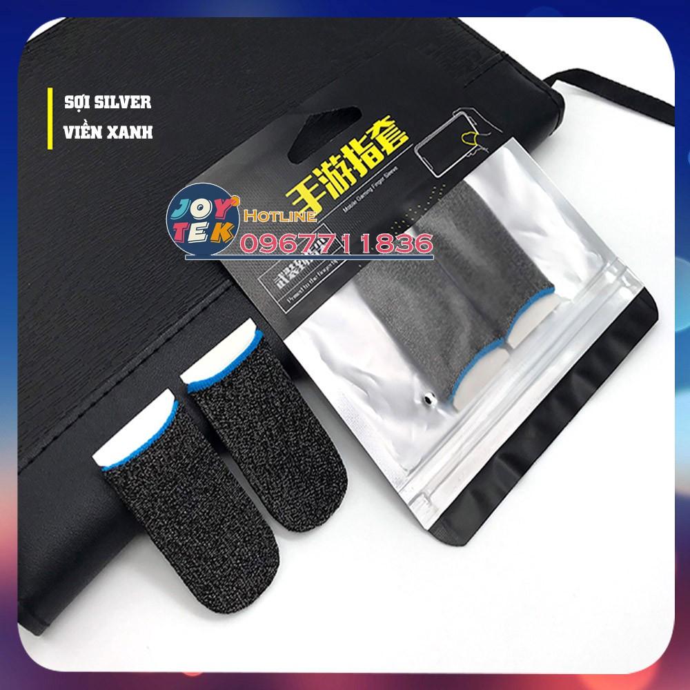 Bao tay chơi game, găng tay chơi game chống hồ môi siêu nhạy giá rẻ free ship chơi pubg ff - 1 bộ 2 chiếc