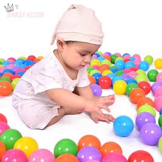 ღEco-Friendly Colorful Ocean Wave Balls Pool Outdoors Kids Soft Toysღ
