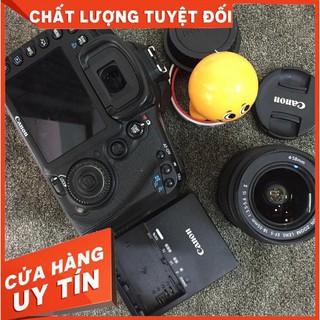 Bộ máy ảnh Canon EOS 7D và lens 18-55 is II