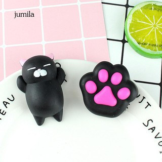 JL_Cute Cat Paw Shape Squeeze Toy Stress Reliever Kids Gift