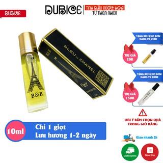 [Lưu hương 14 tiếng] Tinh dầu nước hoa nam nữ mini Pháp BB dạng lăn 12ml (không cồn)