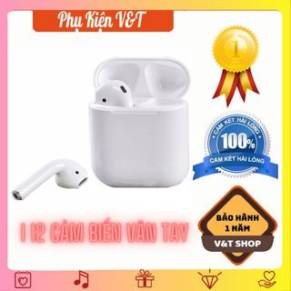 [Mã SRJULY1619 giảm 15K đơn 50K] Tai Nghe Bluetooth i12 TWS FREESHIP Tai Nghe Âm Thanh Cực Chuẩn thumbnail