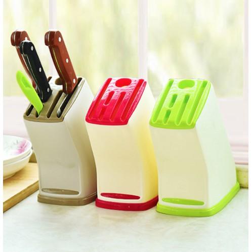 Giá để dao nhà bếp bằng nhựa thiết kế đa năng tiện dụng