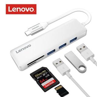 Cáp Type-C -> 3 USB 3.0 + TF/SD Lenovo C605-SL, Bộ chuyển đổi TYPE C sang 3 USB 3.0 + đọc thẻ nhớ Lenovo C605 SL